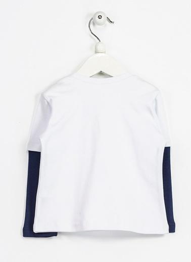 Locopop Tişört Beyaz